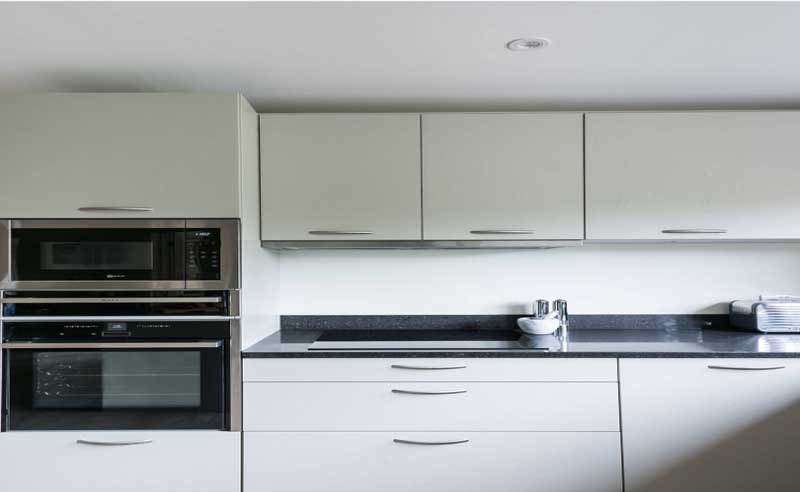 gurgaons largest modular kitchen brand with over 2000 customers provided a white acrylic kitchen