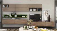 led units tv units wall mount with lot of cabinet and shelves manufactured in gurgaon and delhi