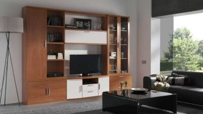 amazing storage planned in a tv units manufactured by the design indian kitchen company in gurgaon and Delhi