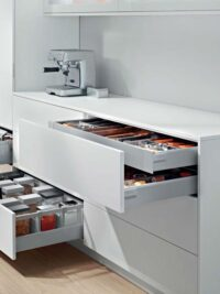 internal drawers by blum, these are antaro in space grey