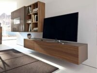 wall hanging tv units with multiple storage capacity in gurgaon