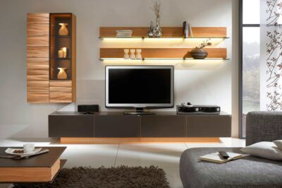 aesthetically planned tv units with multiple storage option in gurgaon