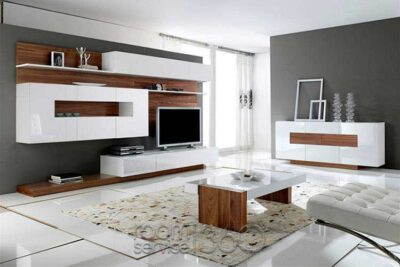 high gloss glass lacquer and wooden panelling in tv units manufactured in gurgaon and delhi