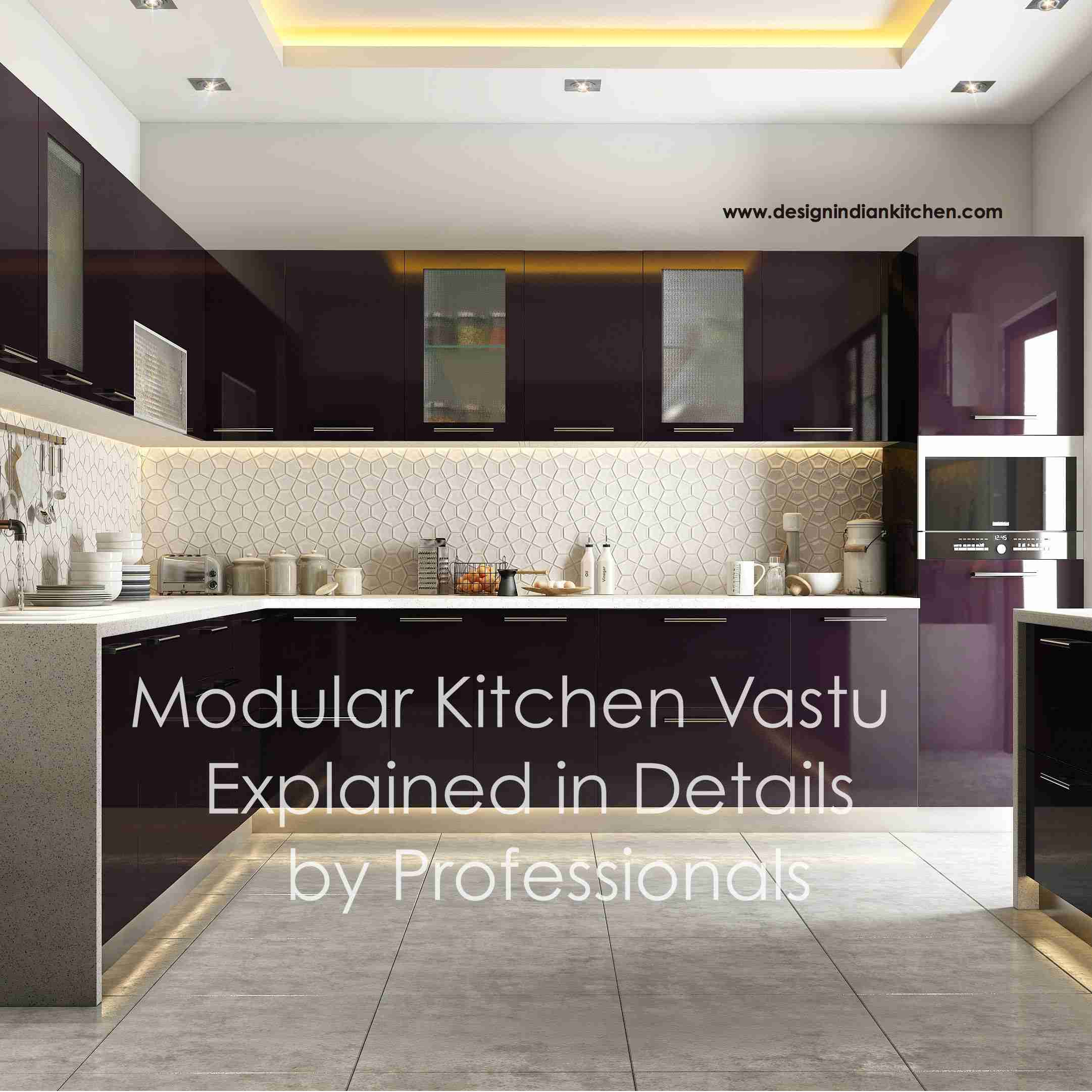 Planning A Modular Kitchen As Per Vastu Points To Remember