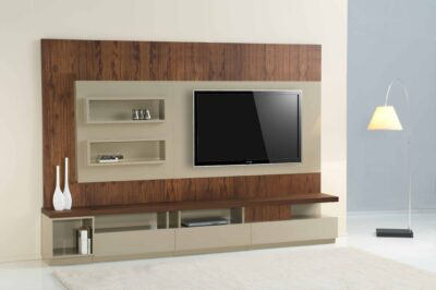 manufactured tv units with storage planning and inbuilt shelves in gurgaon