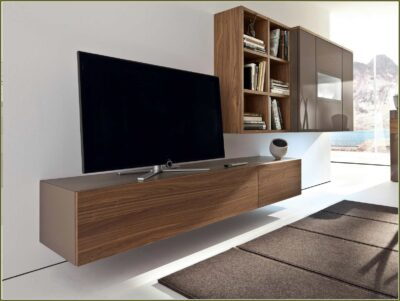wooden laminated tv wall units and led panels by the design indian kitchen company