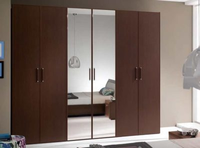 chocolate wardrobes by the design indian wardrobe company