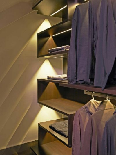wardrobe designer lights inbuilt by the design indian wardrobe company