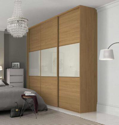 sliding wardrobes with lacquer glass in gurgaon and delhi