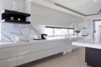handleless white kitchens by design indian kitchen company in gurgaon