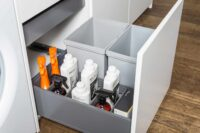 blum provides top class mounted dustbins for modular kitchens in Gurgaon and Delhi