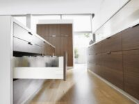 blum intivo tandombox drawer fittings system installed by Design Indian Kitchen company